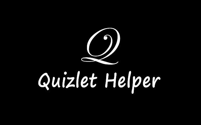 Quizlet Helper