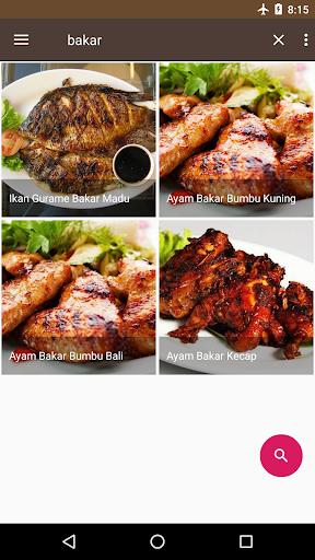 Screenshot 1 Resep Masakan Rumahan