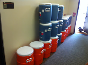 Photo: Water coolers new for 2011