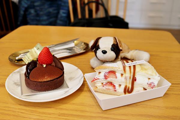 蘇格蕾法式甜點 Le Sucré Pâtisserie 期間限定草莓千層.新品可可先生