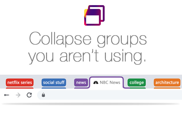 Auto Collapse for Tab Groups