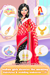 Indian Girls Wedding Designers Makeup & DressUp - náhled