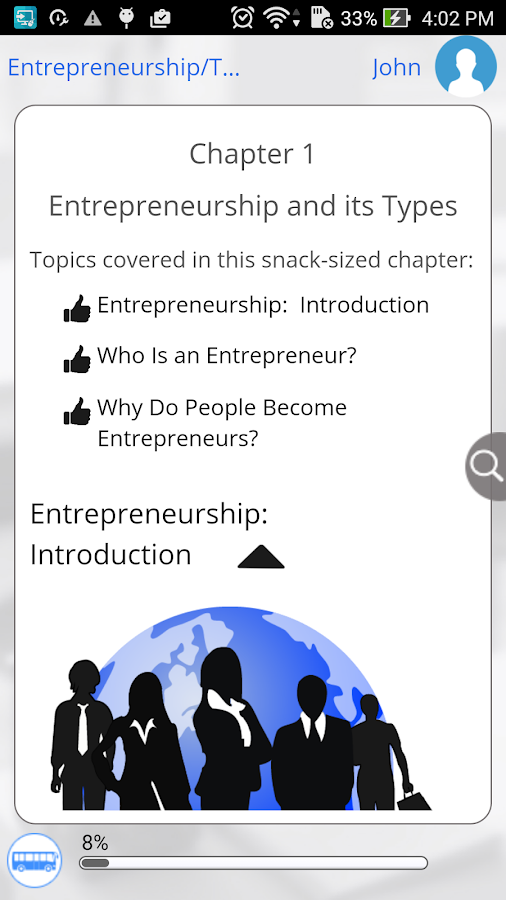 Learn Entrepreneurship- screenshot