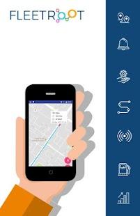 Fleetroot - App - náhled