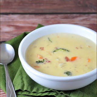 Three-Cheese Beer Soup