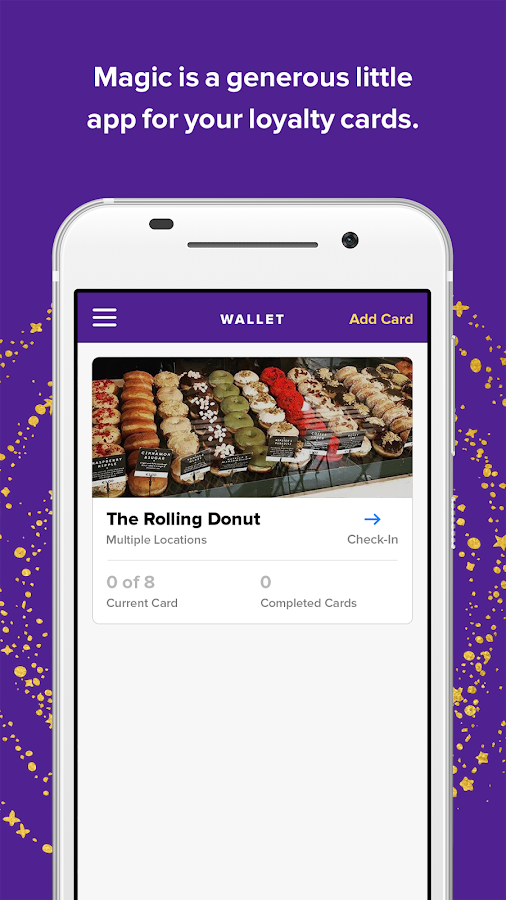 Magic – A little loyalty app- screenshot