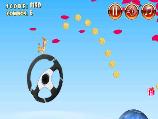 玩免費冒險APP|下載长颈鹿跳和跳跃游戏 app不用錢|硬是要APP