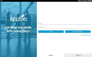 Screenshot of Apptivo CRM