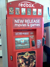 Photo: The Redbox is right around the corner when you walk into Walmart.