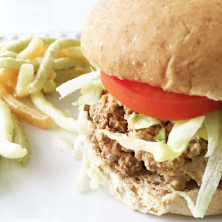 Healthified Crock Pot Cheeseburger Sliders