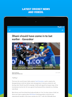 App ESPNCricinfo - Live Cricket Scores, News & Videos APK for Windows Phone