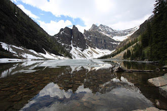 Photo: Banff NP - Agnes Lake