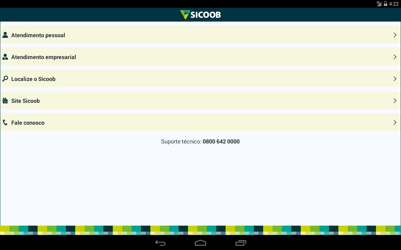 Sicoob- screenshot