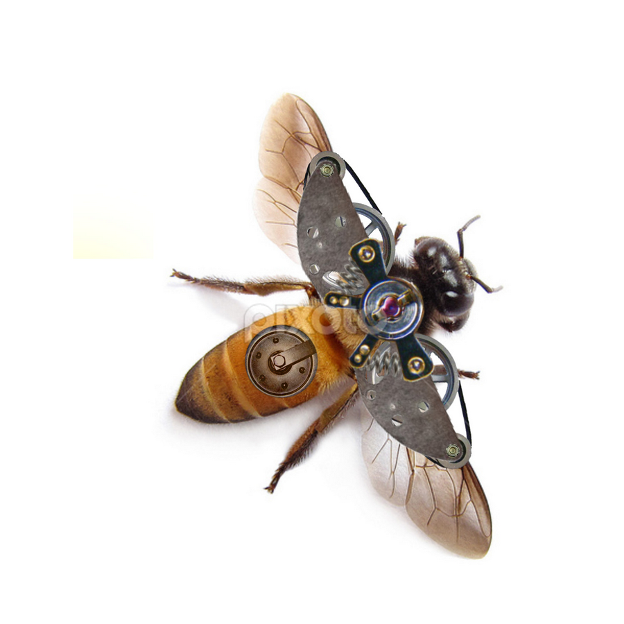 Mechanical Bee by Todd Young - Digital Art Things