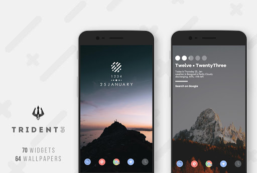 Trident 3 for KWGT screenshot