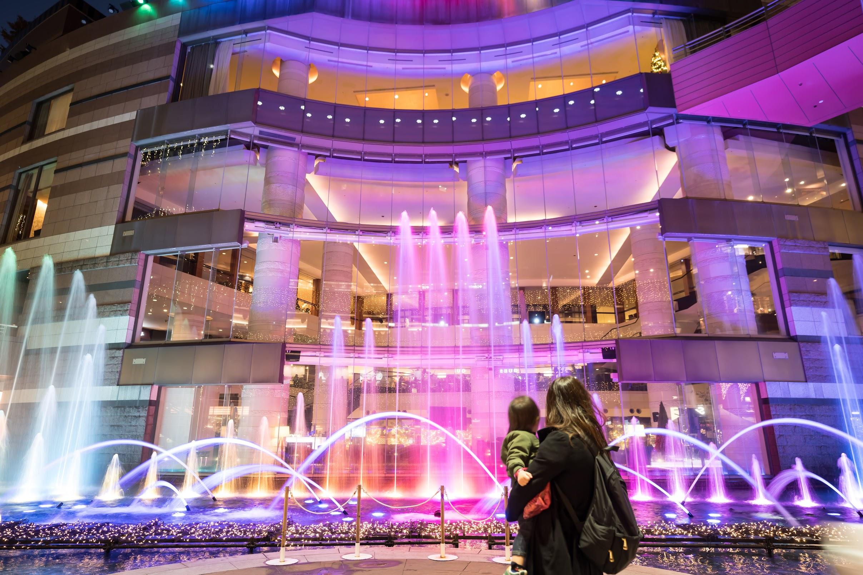 キャナルシティ博多 噴水ショー2