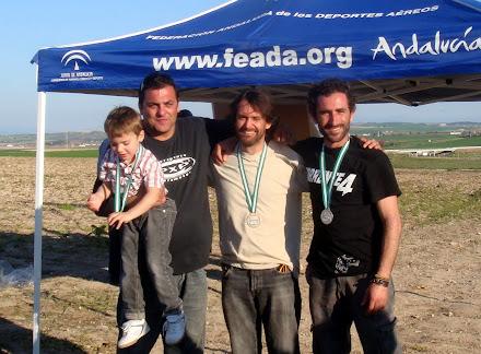 Resultados del Campeonato de Andalucía de Paramotor