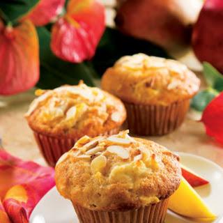 Tropical Mango Cream Cheese Muffins