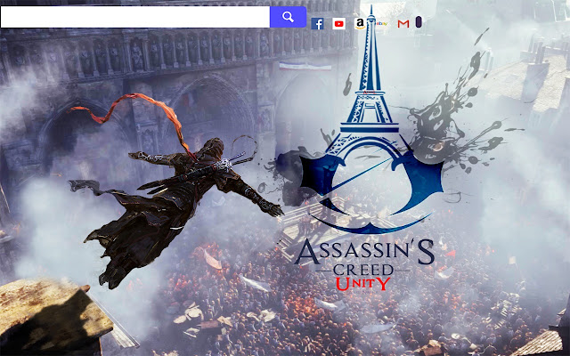 Assassins creed unity game hd wallpapers chrome get newtab background theme with hd wallpapers for every fan of assassins creedunity game voltagebd Image collections