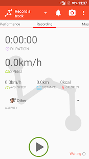 Trackino - GPS Record your tracks- screenshot thumbnail