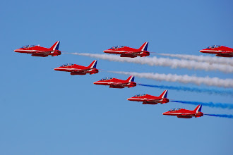 """Photo: """"Red Arrows"""""""