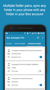 Autosync Box Cloud Storage- screenshot thumbnail
