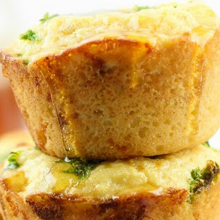 Gluten-Free Jalapeno Cheddar Cornbread Cupcakes
