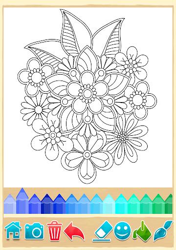 Mandala Coloring Pages  screenshots 3