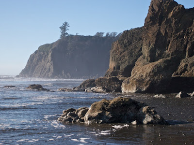 ruby beach headlands