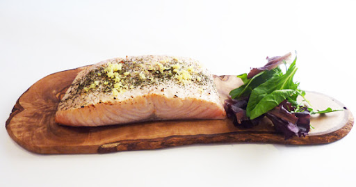 Easy Baked Salmon with Dill Recipe (low sodium)
