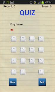 Spanish Words & Idioms widget - náhled
