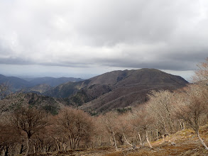 雨乞岳方面