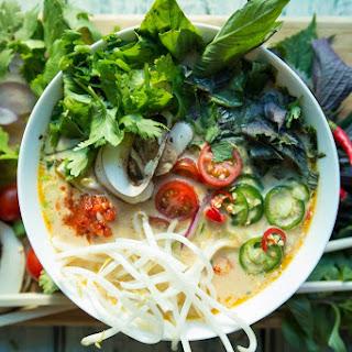 Spicy Paleo Tom Kha Gai Soup