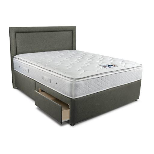 Sleepeezee Memory Comfort 1000 Ottoman Bed