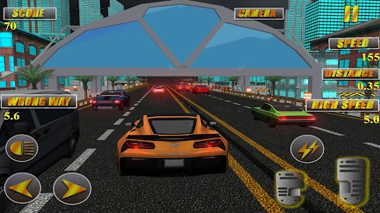 Real Speed: Car simulator 3D HD Traffic - náhled