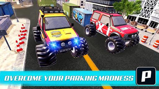 Monster Truck Car Parking & driving Simulator screenshots 1