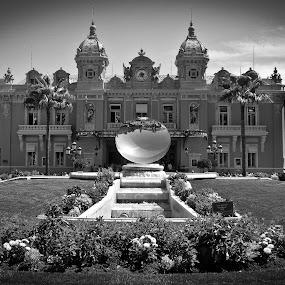 Monte Carlo Casino by Chris Boulton - Landscapes Travel