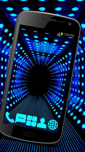 Neon Speakers Launcher Theme