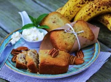 Sour Cream Banana Nut Bread