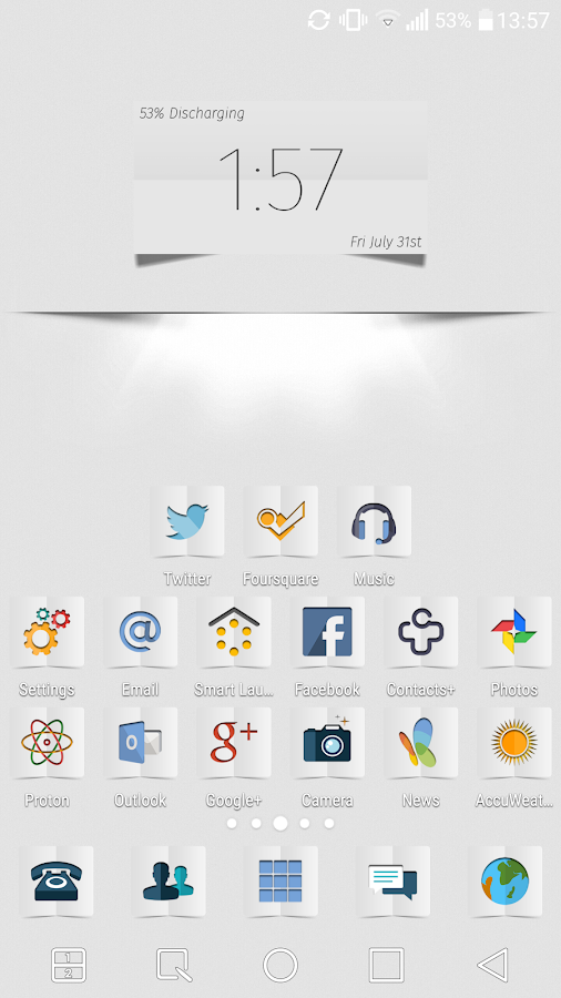 Proton-W Icon Pack- screenshot
