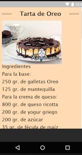 Recetas de Pasteles Faciles - náhled