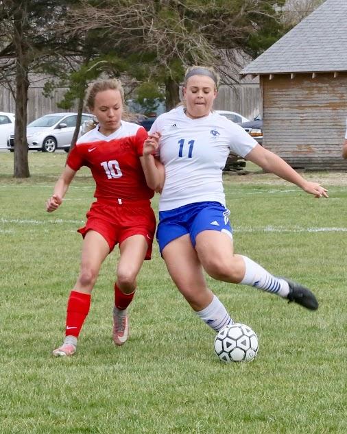 HHS vs McPherson Soccer