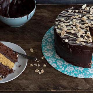 Chocolate And Orange Cake.