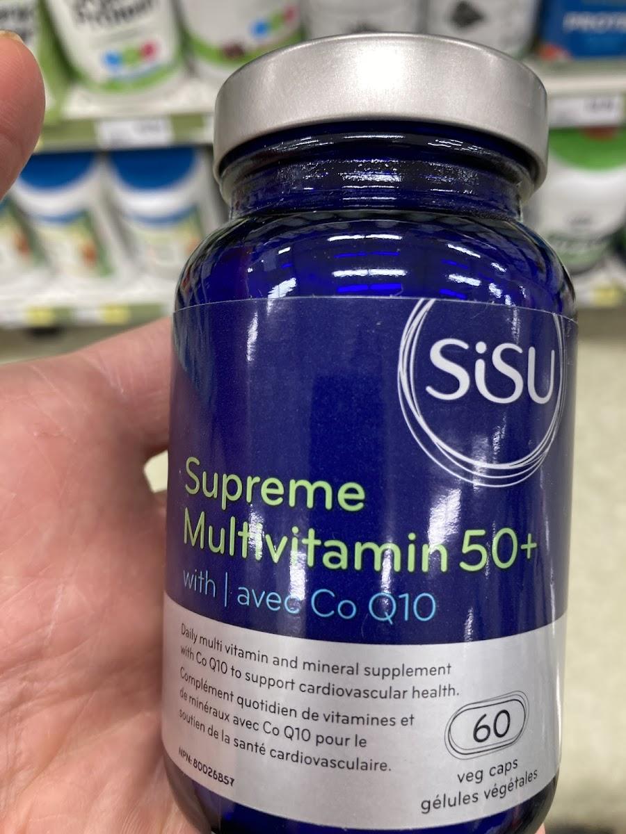 Supreme Multivitamin 50+