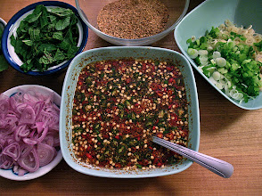 Photo: hot-and-sour sauce for catfish salad