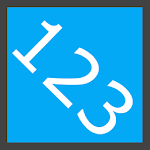 Reorder numbers Icon