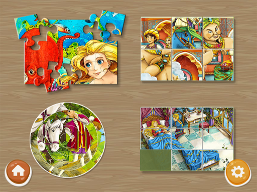 Princess Puzzles and Painting Apk 2