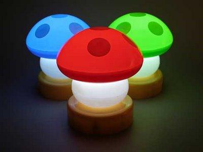 Abajur Cogumelo Super Mario