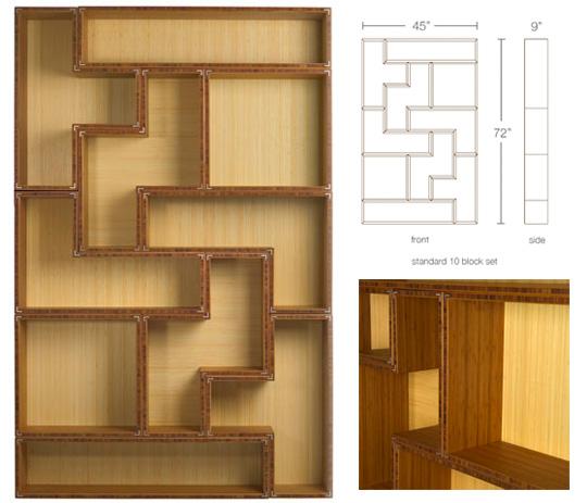 Estante Tetris