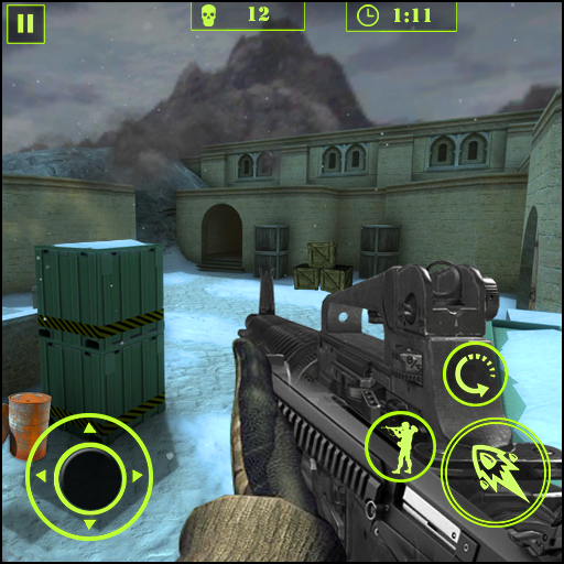 counter FPS critical strike : Winter Offensive APK